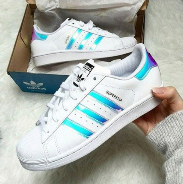 adidas holographic shoes