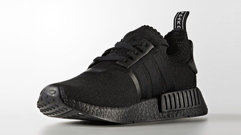 adidas nmd black and white