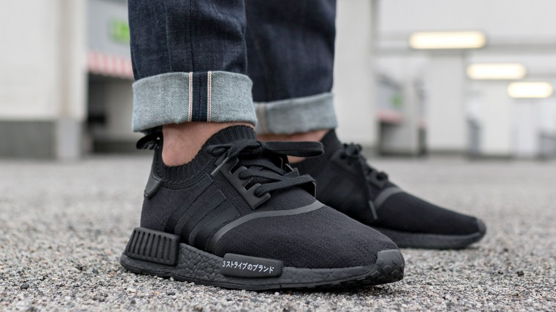 adidas nmd japan triple black