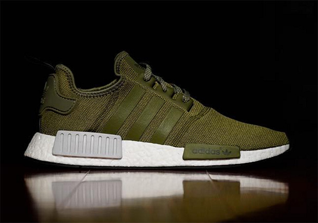 adidas nmd olive green