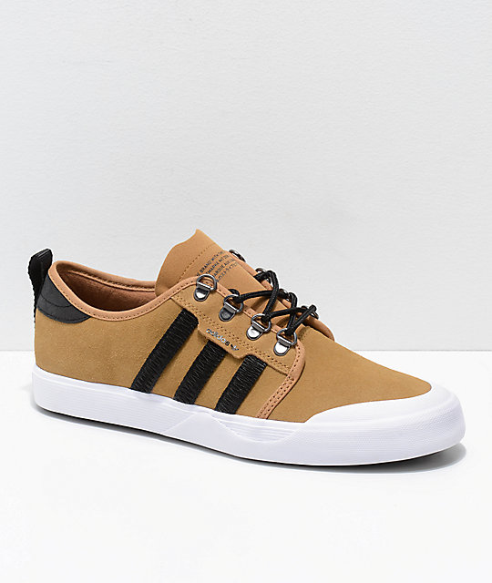 adidas tan shoes