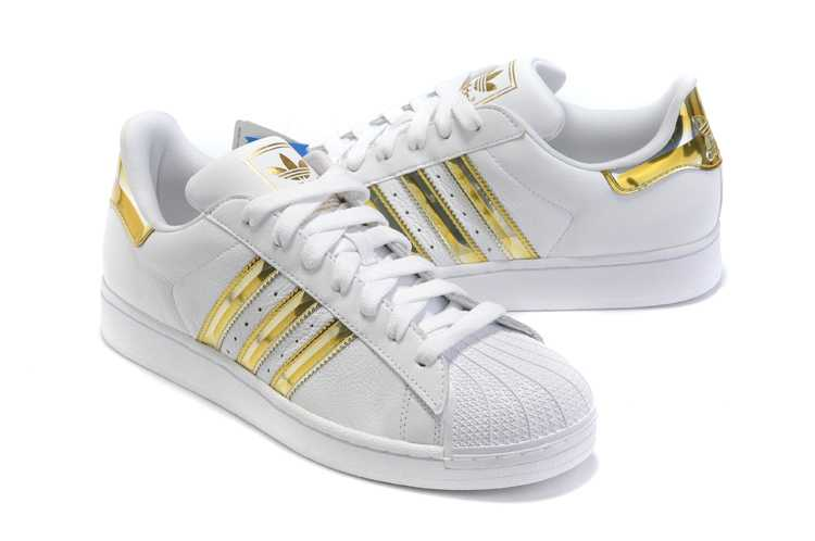 WHITE AND GOLD ADIDAS : Buy 100% authentic Adidas Sneakers ...