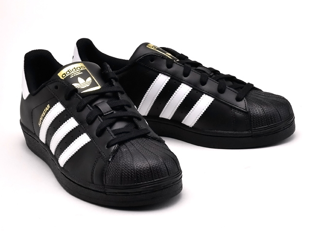 adidas superstar black original